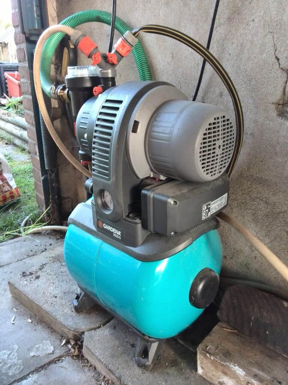Berühmt ᐅᐅ】 Gardena Hauswasserwerk 3000/4 eco ᐅ Hauswasserwerk Test @QI_71