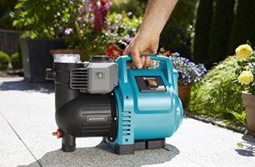GARDENA Hauswasserautomat 3500/4E: Robuste Hauswasserpumpe, vollautomatisch, mit LED-Blinklicht-Frequenz, Fördermenge 3500 l/h, Thermoschutzschalter, Trockenlaufsicherung (1757-20) - 3