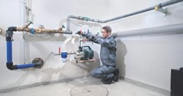 Hauswasserwerk anschließen