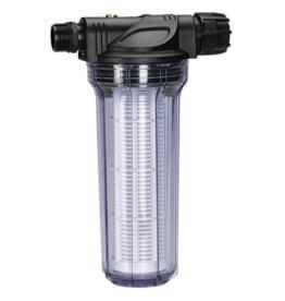 GARDENA Pumpen-Vorfilter für Wasserdurchfluss bis 6000 l/h: Effektiver Filter für Gartenpumpen und Hauswasserautomaten, mit Filtereinsatz (1730-20) - 1